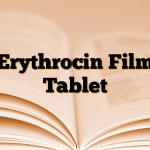 Erythrocin Film Tablet