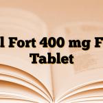 Etol Fort 400 mg Film Tablet