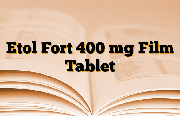 Etol Fort 400 mg Film Tablet