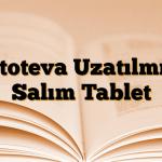 Etoteva Uzatılmış Salım Tablet