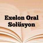 Exelon Oral Solüsyon