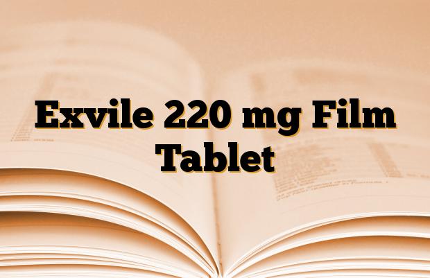 Exvile 220 mg Film Tablet