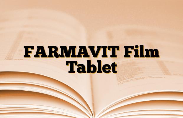 FARMAVIT Film Tablet