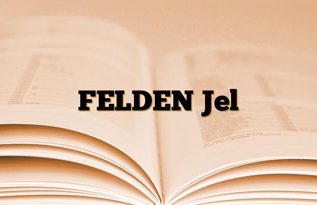 FELDEN Jel