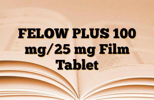 FELOW PLUS 100 mg/25 mg Film Tablet