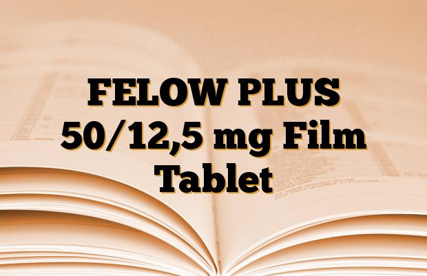 FELOW PLUS 50/12,5 mg Film Tablet