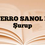 FERRO SANOL B Şurup