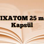 FIXATOM 25 mg Kapsül