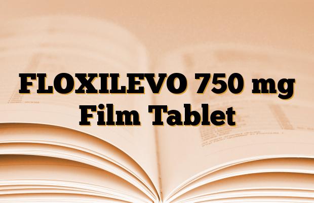 FLOXILEVO 750 mg Film Tablet
