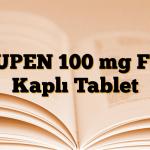 FLUPEN 100 mg Film Kaplı Tablet
