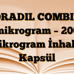 FORADIL COMBI 12 mikrogram – 200 mikrogram İnhaler Kapsül