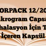 FORPACK 12/200 mikrogram Capsair İnhalasyon İçin Toz İçeren Kapsül