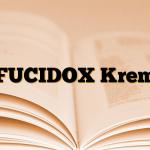 FUCIDOX Krem