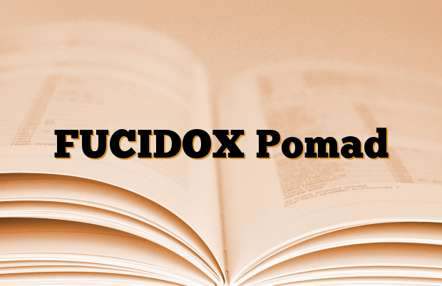 FUCIDOX Pomad