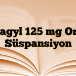 Flagyl 125 mg Oral Süspansiyon