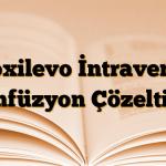 Floxilevo İntravenöz Enfüzyon Çözeltisi