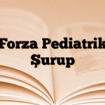 Forza Pediatrik Şurup