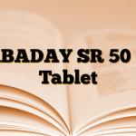 GABADAY SR 50 mg Tablet