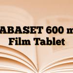 GABASET 600 mg Film Tablet