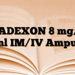 GADEXON 8 mg/2 ml IM/IV Ampul