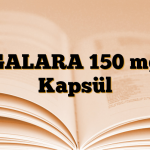 GALARA 150 mg Kapsül