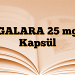 GALARA 25 mg Kapsül