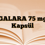 GALARA 75 mg Kapsül