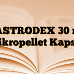 GASTRODEX 30 mg Mikropellet Kapsül