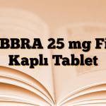 GEBBRA 25 mg Film Kaplı Tablet