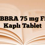 GEBBRA 75 mg Film Kaplı Tablet