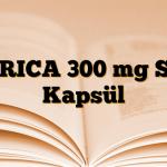 GERICA 300 mg Sert Kapsül