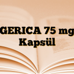 GERICA 75 mg Kapsül