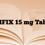 GLIFIX 15 mg Tablet