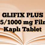 GLIFIX PLUS 15/1000 mg Film Kaplı Tablet