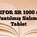 GLIFOR SR 1000 mg Uzatılmış Salımlı Tablet