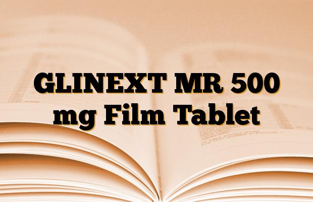 GLINEXT MR 500 mg Film Tablet
