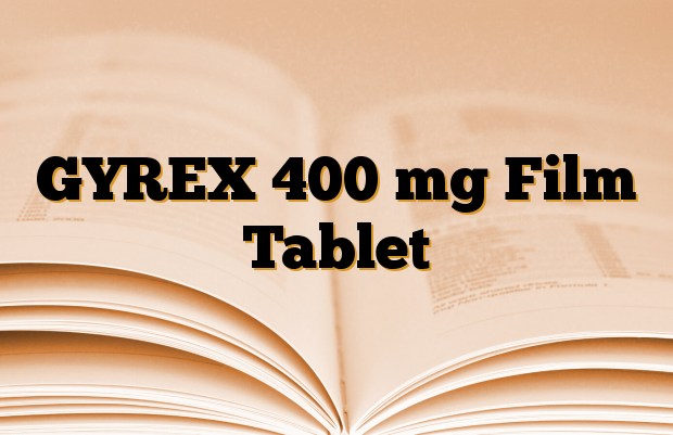 GYREX 400 mg Film Tablet