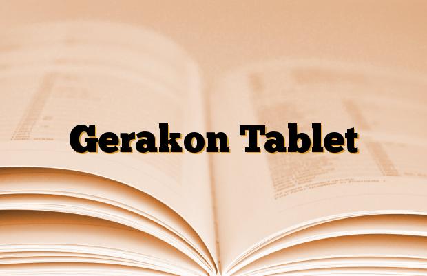 Gerakon Tablet