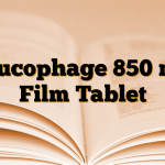 Glucophage 850 mg Film Tablet