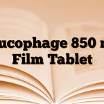 Glucophage 850 mg Film Tablet