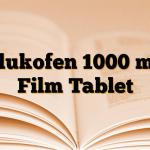 Glukofen 1000 mg Film Tablet
