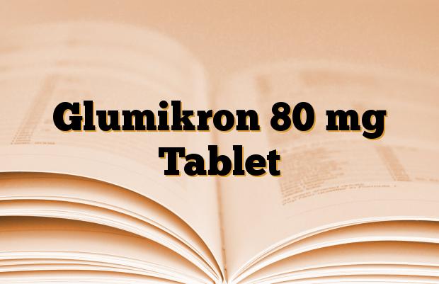 Glumikron 80 mg Tablet