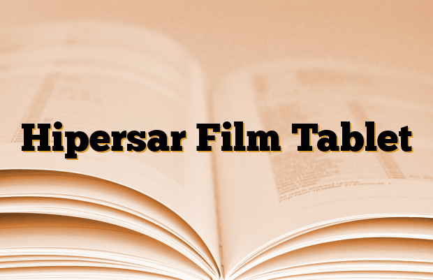 Hipersar Film Tablet