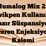 Humalog Mix 25 Kwikpen Kullanıma hazır Süspansiyon İçeren Enjeksiyon Kalemi