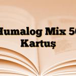 Humalog Mix 50 Kartuş