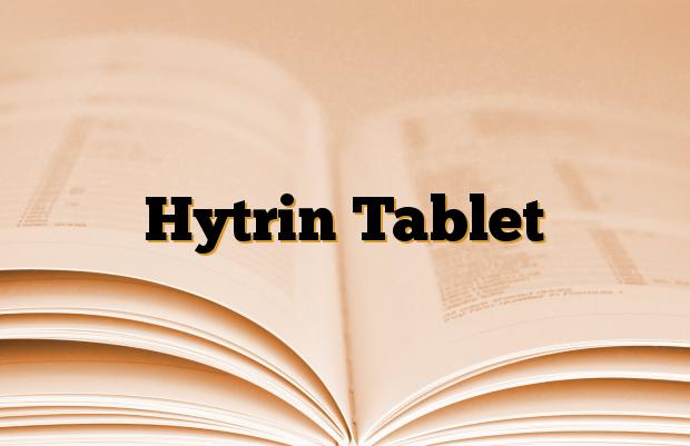 Hytrin Tablet