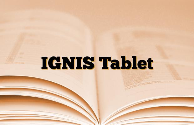 IGNIS Tablet