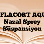 INFLACORT AQUA Nazal Sprey Süspansiyon