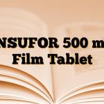 INSUFOR 500 mg Film Tablet