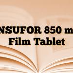 INSUFOR 850 mg Film Tablet